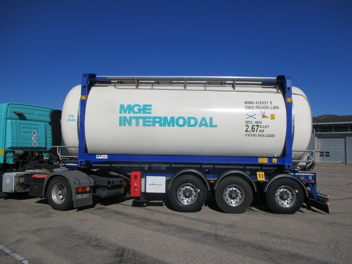 MGE intermodal caisse mobile ADR