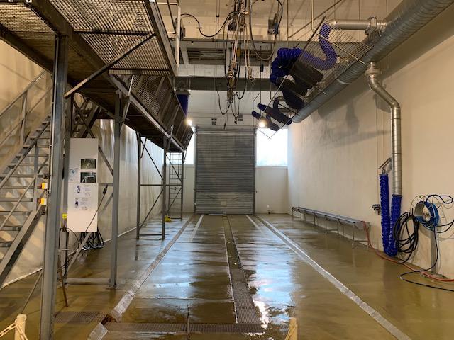 Photographie : Station de lavage ISMERT