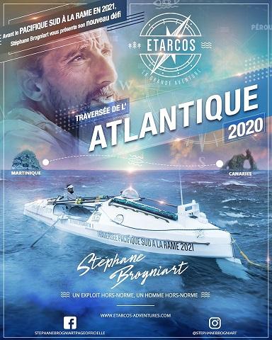 Traversée de l'Atlantique Stéphane Brogniart Etarcos